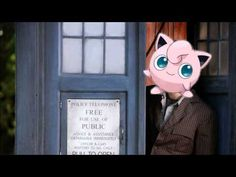 Jiggly Puff singing the Doctor Who theme song. Whoever made this is a fan after my own heart. I loves them!