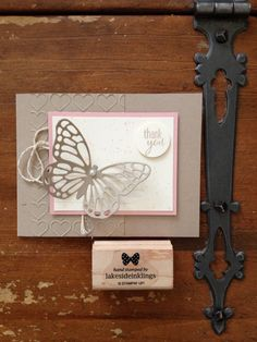 Stampin' Up! Occasions mini 2015, spring cards, butterflies thinlits dies, gorgeous grunge, hearts embossing folder www.lakesideinklings.stampinup.net