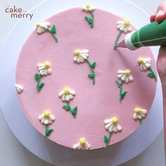 Cake Decorating Frosting, Creative Cake Decorating, Cake Decorating Videos, Birthday Cake Decorating, Cake Decorating Techniques, Creative Cakes, Cookie Decorating, Cake Icing, Eat Cake
