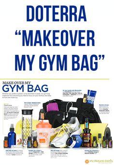 """doTERRA """"Makeover My Gym Bag"""""""