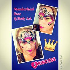 Princess face paint