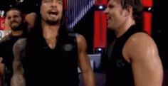 Honestly, we all should've known that they wouldn't be the reason why the shield broke up . Roman Reigns and Dean Ambrose