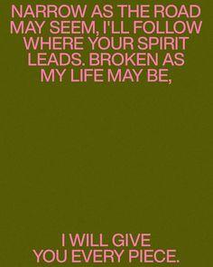 Christian Music Lyrics, Gives Me Hope, My Life, Give It To Me, Spirit, God, Dios, Christian Song Lyrics, The Lord