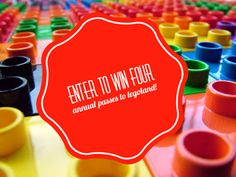 #GIVEAWAY! Enter to Win Annual Passes to LEGOLAND Florida! #legolandflorida
