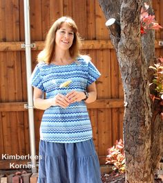 Blue Chevron Top Short Sleeve Dresses, Dresses With Sleeves, Blue Chevron, Sewing Projects, Tops, Fashion, Moda, Sleeve Dresses, Fashion Styles