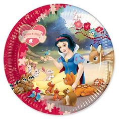 Party Ark's 'Disney Princess Snow White Paper Plates 23cm'