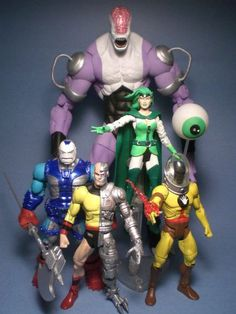 Mano of the Fatal Five (DC Universe) Custom Action Figure
