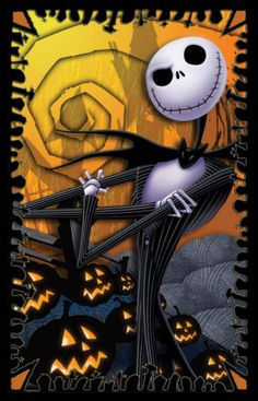 nightmare before christmas...this was my sons favorite movie when he was little....RIP Austin...
