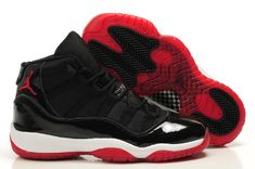 Women Air Jordan 11 Retro Black Red Shoes - Authentic Jordans For Women