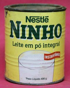 Leite Ninho. Comia puro... Delicia!!!