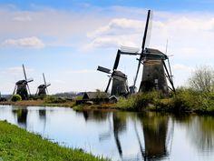 #DebbieLaverell #KinderdijkWindmills