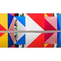 Urban cubism (from artist @maserart)  #maser #maseart #russia #россия #москва #moscow #color #colour #цветное #скейт #skateboarding #reflection #отражение #mosaic #мозайка #вднх #vdnh #art #artproject #girl #девушка #streetart #уличное #уличныйарт #street #shadow #streetphoto #streetphotography @vdnh_russia by @dmilin http://boig.co/1KGcRjy