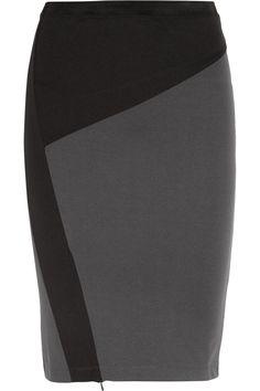 Dagmar|Roxanne paneled stretch-jersey pencil skirt, $200