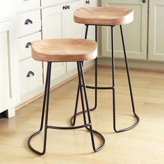 Wisteria - Furniture - Shop by Category - Poufs & Stools - Smart and Sleek Stool - Short