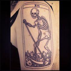 death card. merci lola!