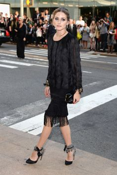 Arriving at the CFDA awards in New York.