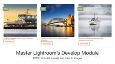 The Lightroom Develop Tutorials will help you master the art of optimising and stylising your photographic images. Learning Centers, Sydney Harbour Bridge, Lightroom, Centre, Filters, Tutorials, Image, Art, Art Background