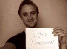 dramione, tom felton, and harry potter afbeelding