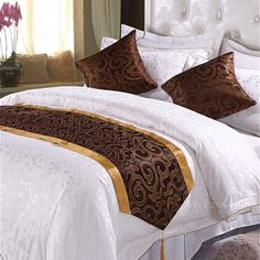 King Bedding Sets For Sale Bedroom Bed Design, Bedroom Decor, Hotel Collection Bedding, Living Room Decor Cozy, Hotel Bed, Bed Runner, King Bedding Sets, Bed Styling, Bed Covers