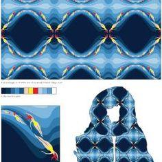 I LOVE Nicky Riga's Scarf Design for @PrintedVillage