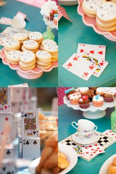 {Real parties} Carlotta in Wonderland Birthday Party