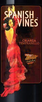 SPANISH VINES TEMPERNILLO- $11.99