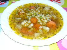 Gemüsesuppe mit Sternchen