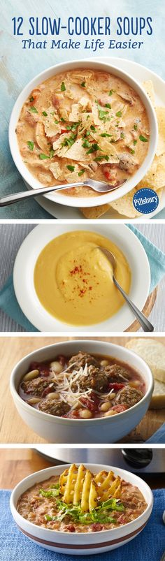 There's so much to love about making soup in the slow cooker. For one, it's practically effortless. Two, you can set it and forget it. And three, it makes your entire kitchen smell delicious!
