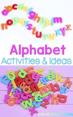 From letter recognition to beginning sounds, find many alphabet activities that are hands-on, fun, and engaging at this post. I really like idea number five.