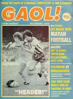 """Scarfolk Council """"Gaol!"""" Weekly (1970-79)"""
