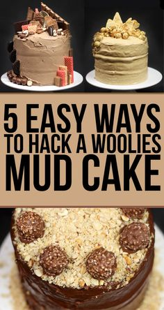 We Made Woolies Mud Cakes Look Fucking Fancy - super last minute, oh-my-god-I-forgot-your-birthday cake idea.