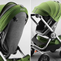 Ready, Set, Go! Style your stroller with a sporty new look Stokke® Scoot™