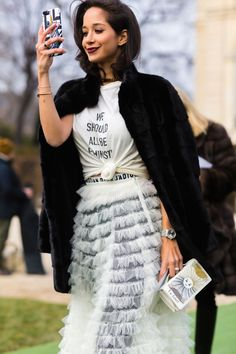 Riches for Rags — triponbroknbeats: Paris Couture Week Street Style