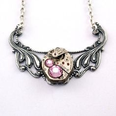 Steampunk Necklace - Steampunk Jewelry By London Particulars