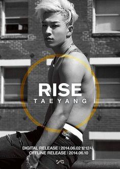 Taeyang Rise album Eyes, Nose, Lips shirtless idols~