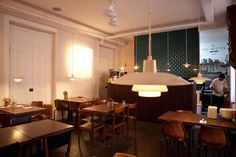 The Decadente, a restaurant at The Independente Hostel & Suites in Lisbon