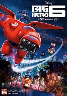 BIG HERO 6 (2014) -Parte 1/2-