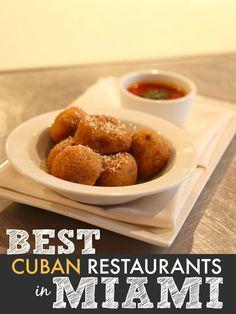 Get my list of 5 best Cuban restaurants in Little Havana, Miami. #1 LA CAMARONERA SEAFOOD #EL REY DE LAS FRITAS #3 DESSERT AT AZUCAR ICE CREAM COMPANY
