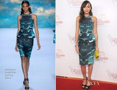 Ashley Madekwe In Monique Lhuillier - 34th College Television Awards Gala