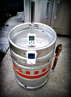 Convert An Old Keg Into A Meat Smoker Tail Gating In