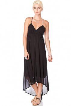 Monique Maxi Dress in Black