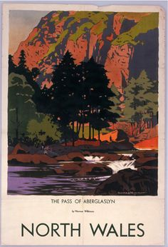 North Wales - Pass of Aberglaslyn