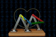 Cardioid Curve Mechanism - STEP / IGES,SOLIDWORKS,AutoCAD,Parasolid - 3D CAD model - GrabCAD