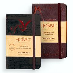 2012 Limited Moleskin Edition of The Hobbit: WANT