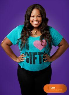 """Amber Riley é """"Mercedes Jones"""". Glee - Quartas 22H15  #GleeBR #SouGleek Confira conteúdo exclusivo no www.foxplay.com"""