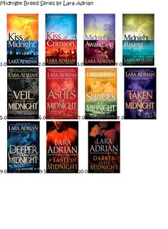Midnight breed series  my ultimate favorite!