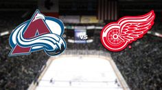 Tonight at 7 PM your Colorado Avalanche look to extend their win streak against the Red Wings!