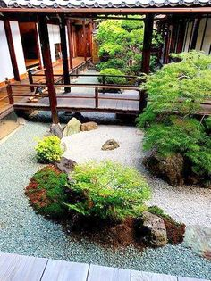 Kyoto - Konchi-in binnen zen tuin (sub-tempel van het Nanzen-ji complex)