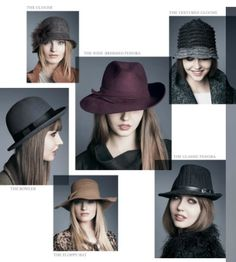 Hot Hats for Fall and Winter