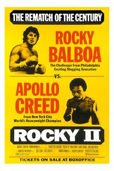 Rocky II directed by Sylvester Stallone / 3rd grossing film in 1979